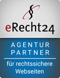 eRecht 24 ARGENTUR PARTNER für rechtssichere Webseiten